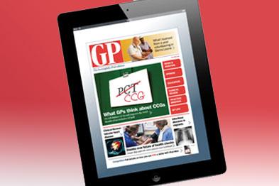 GP iPad edition: shortlisted for prestigious award