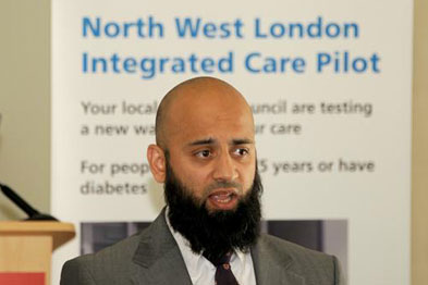 Dr Aumran Tahir: the Integrated Care Pilot addresses major issues that normally prevent the delivery of widespread integrated care