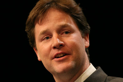 Mr Clegg pledged to replace PCTs with locally elected health boards