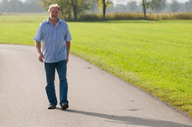 A brisk walk can slow the progression of prostate cancer, say reports