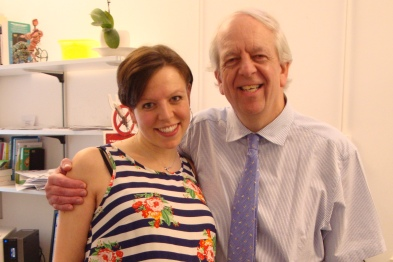 Dr Helen Neilan and her father Dr John Stride