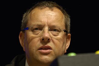 Dr David Bailey: contract talks resumed