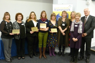Accreditation: practice staff with end of life awards