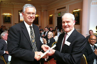 Professor David Haslam and Dr Clifford Kay