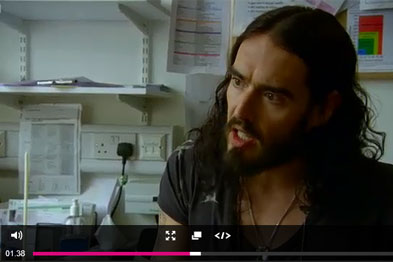 RCGP chairwoman Dr Clare Gerada debated methadone scripts with Russell Brand