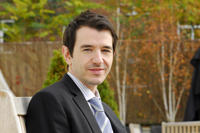 Dr Ben Riley: online learning for CPD (Photograph: Jason Heath Lancy)