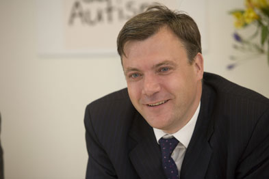 Ed Balls (Photograph: Alex Deverill)