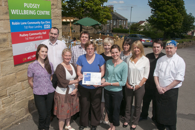 Robin Lane medical centre team: launched a range of services aimed at refocusing on proactive healthcare