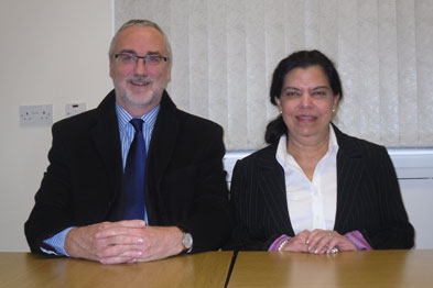 John McEwan and Dr Anita Sharma: 'Cardiovascular diseases are the main cause of death in the UK.'