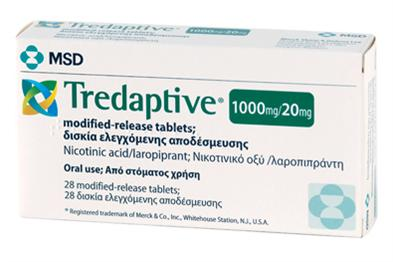Tredaptive is being withdrawn across Europe (Photo: MSD)