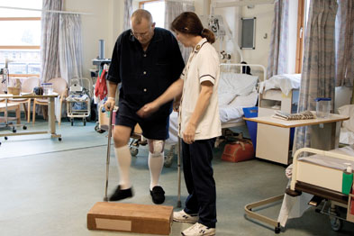 Physiotherapy: GP-led scheme reduced waiting times (photo: SPL)