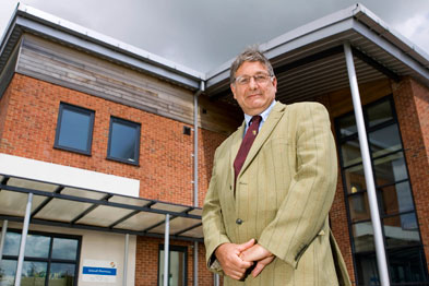 Dr Ian Greaves: one of this year's GP Enterprise Awards winners