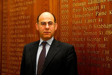 GPC chairman Dr Laurence Buckman