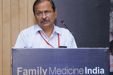 Dr Chandramouli: 'Family medicine is very important in India but we have a huge shortage of doctors and gaps in medical education that need to be filled'