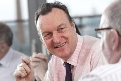 NHS Confereration chief executive Mike Farrar: future of NHS at risk