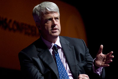 Mr Lansley announced the strategy to raise cancer survival rates