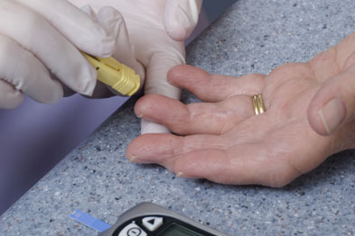 Finger prick: diabetes patients face higher heart failure risk