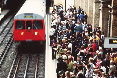 Pilot walk-in centres for commuters proved to be expensive and had low attendance (Photograph: SPL)