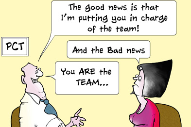 The GP Record, by Fran Orford www.francartoons.com