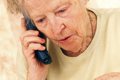 Telecare could improve care at home for elderly patients (Photograph: SPL)