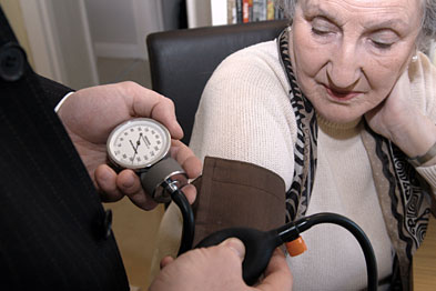 Patients with hypertension: study shows GPs need a better understanding of patients' attitudes to hypertension in order to improve outcomes (Photograph: JH Lancy)