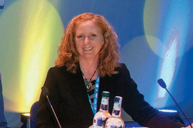 Sharon Alcock chaired the 'You and Social Media' debate