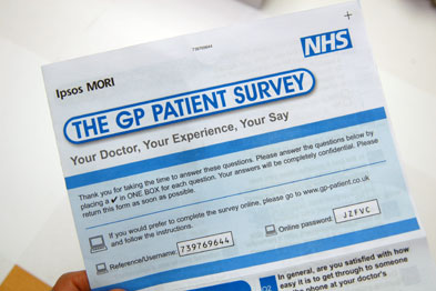 More patients reported that they were unable to book an appoinment ahead