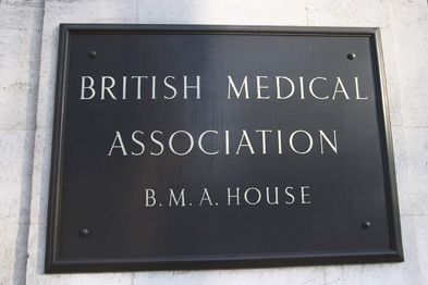 BMA chairman Dr Mark Porter: industrial action plans on hold