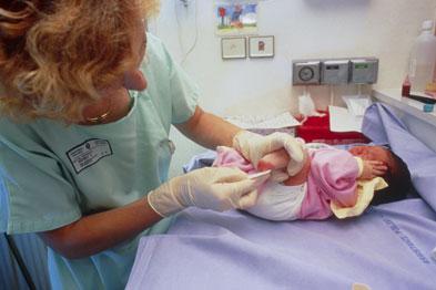 Heelp prick testing can show possible indicators of CF in newborns