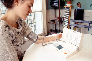 Telecare equipment in a person's home can support independent living (Photograph: SPL)
