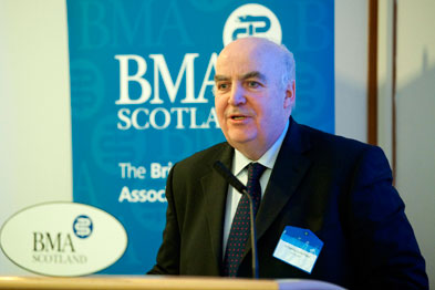 Dr Sutherland: 'The Scottish GPC is now mature enough to let go of the big boy's hand and go alone'