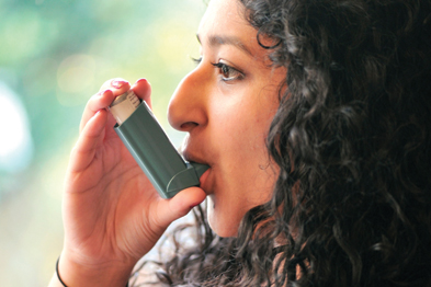 Asthma: CCGs might choose to retain locality commissioning such as long-term conditions (Photograph: SPL)