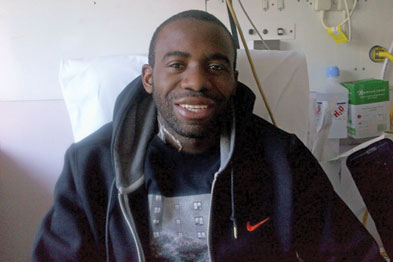 Fabrice Muamba: the footballer's collapse triggered an outpouring of public prayer for his recovery (Photograph: Rex Features)