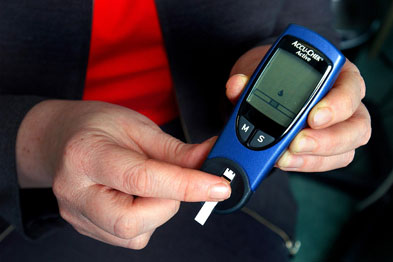 Higher rates of men have diabetes as men are generally worse at looking after their health than women.
