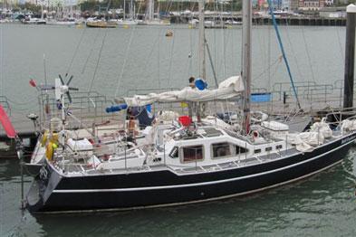 Karen Melling will be sailing the Bold Explorer Yacht