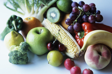 Increasing fruit and vegetable consumption in children (Photograph: Cristina Pedrazzini/SPL)