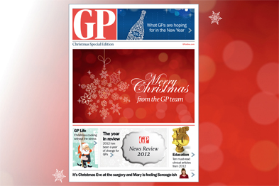 GP's special Christmas edition is only available on the iPad