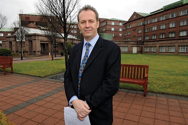 Scottish GPC chair Dr Alan McDevitt