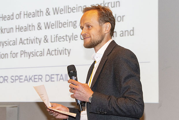 Dr Andrew Boyd, joint RCGP clinical champion for activity and lifestyle (Photo: Pete Hill)