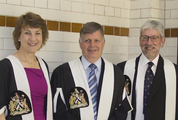 Pictured (l-r): Dr Anne Hawkridge, Dr Bob Kirk, Dr David Molyneux