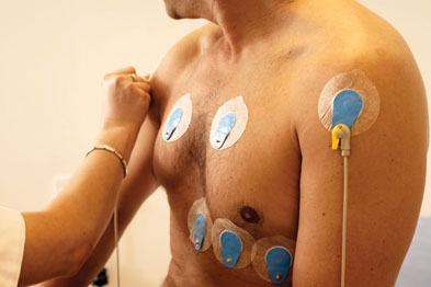 Sports bodies such as UEFA and the International Olympic Committee recommend 12-lead ECG in screening (Photograph: Michael Donne/SPL)