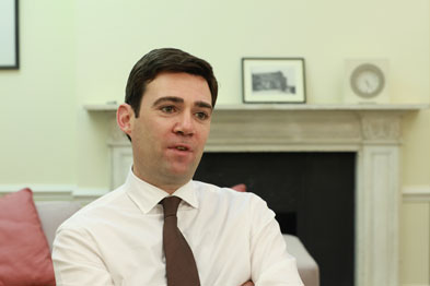 Mr Burnham: 'The NHS is our preferred provider.'