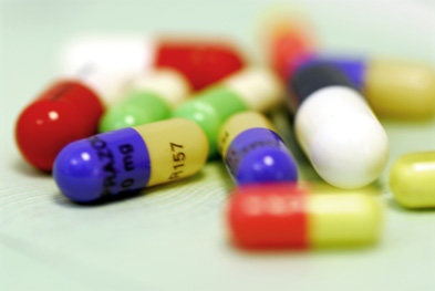 10% of patients admitted they kept a supply of left over antibiotics at home