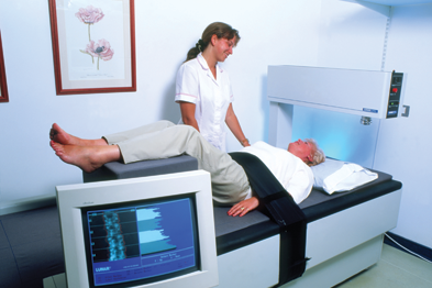 Osteoporosis bone scans should be used to identify at-risk patients