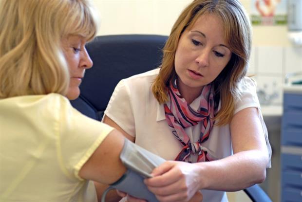 BP measurement: the scheme increased QOF scores for cardiovascular care (photo: Jason Heath Lancy)