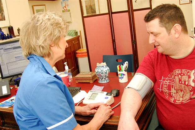 BP test: health checks are a chance to catch disease early (Photo: JH Lancy)