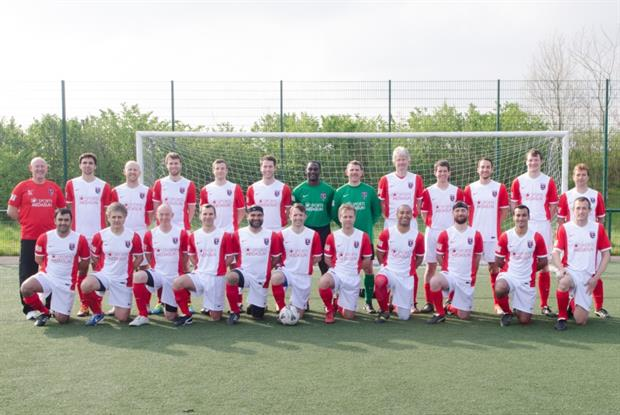 British medical football team: competing in Brazil