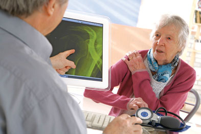 The patient thought her joint pains might be arthritis, but a detailed history and further tests indicated otherwise