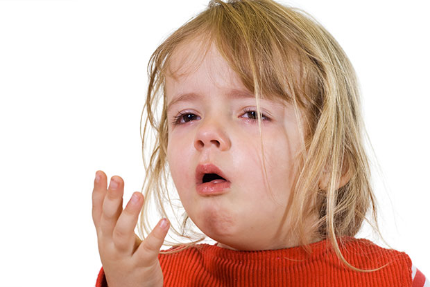 Dry cough in children without fever: causes and treatment