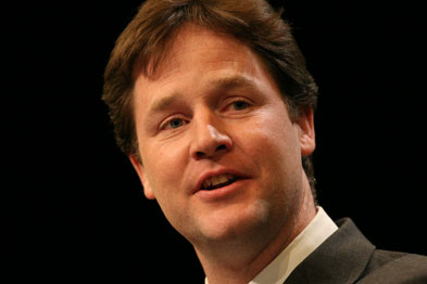 Mr Clegg: 'As far as government legislation is concerned, no bill is better than a bad one'